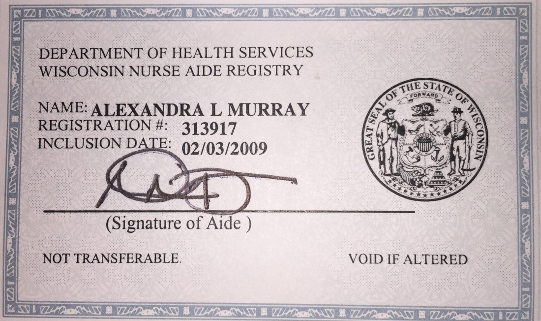 Certificationslicenses Alexandra Murray Bs Rtt